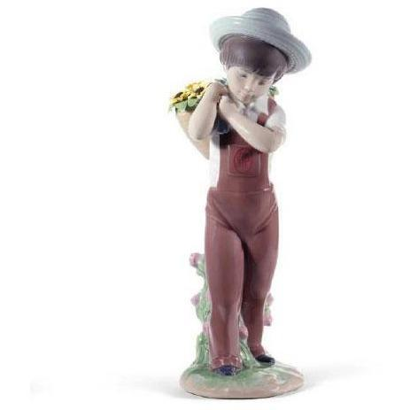 Lladro Gathering Flowers 60th Anniversary Edition 01008675