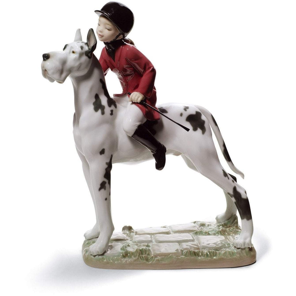 Lladro Giddy Up Doggy Figurine 01008523