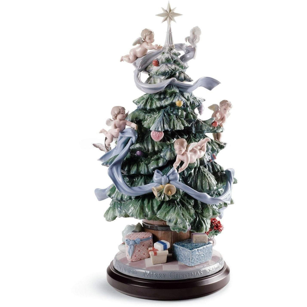 Lladro Great Christmas Tree Figurine 01008477