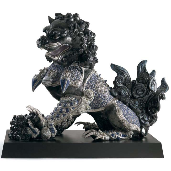 Lladro Guardian Lioness Black Figurine 01001994