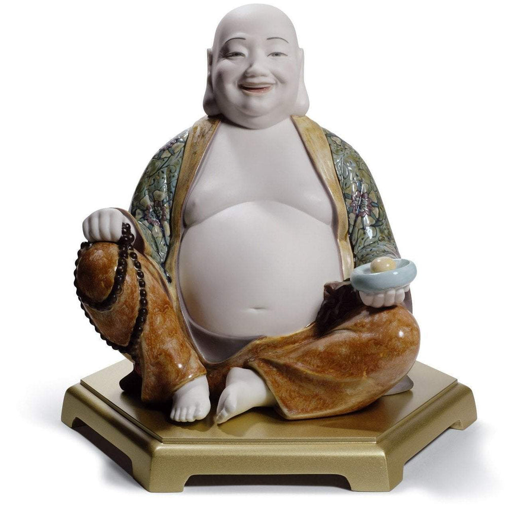 Lladro Happy Buddha Figurine 01008566