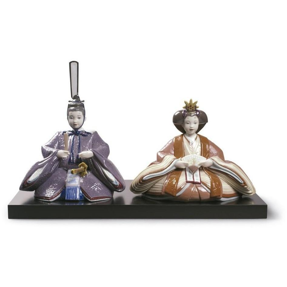Lladro Hina Dolls Figurine Special Version 01009149