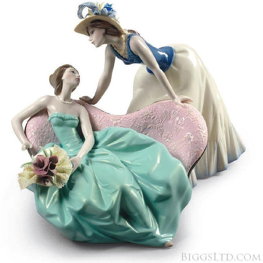Lladro How Is The Party Going Figurine 01009222