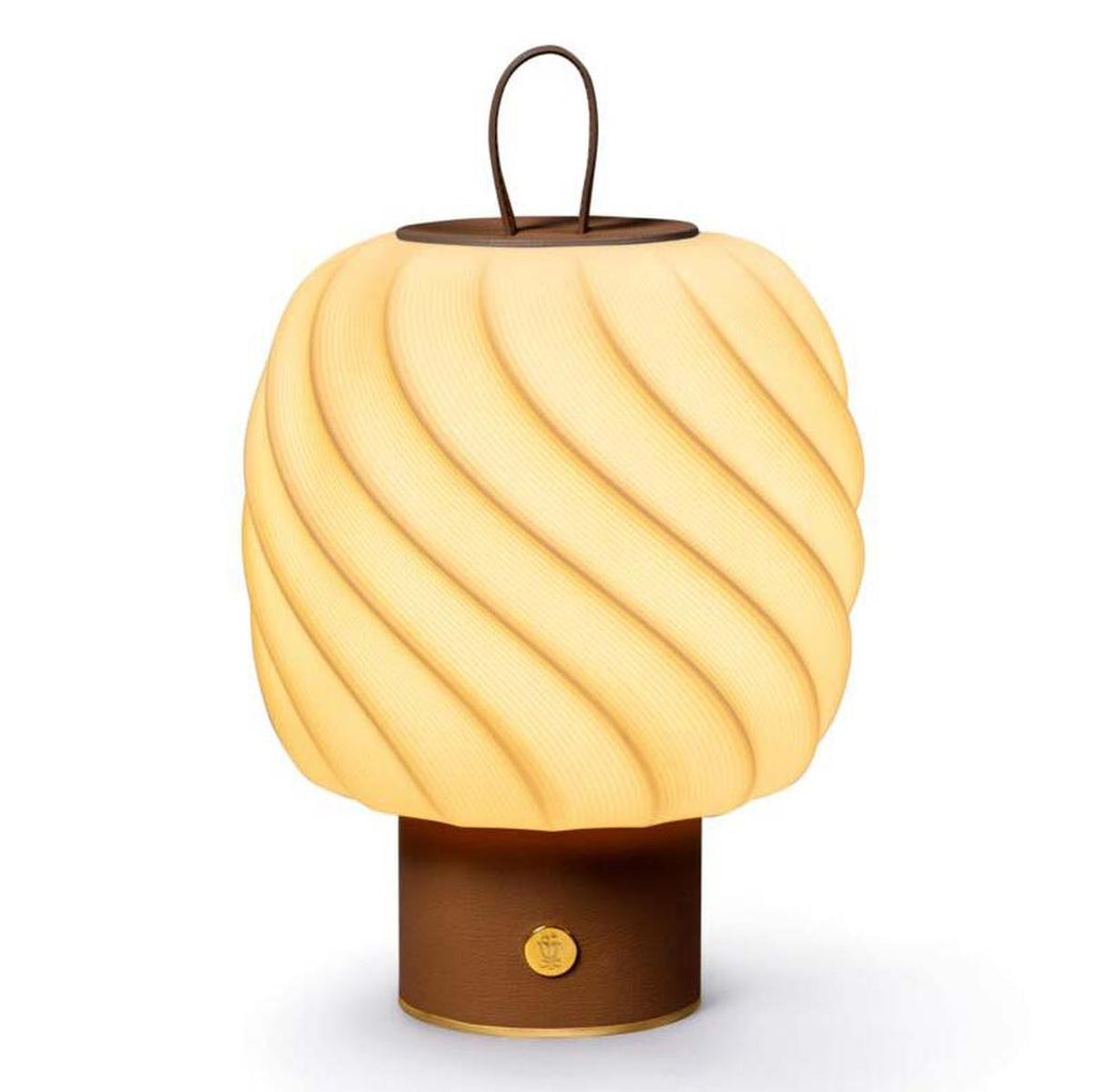 Lladro Ice Cream Portable Lamp Medium Leather 01024049
