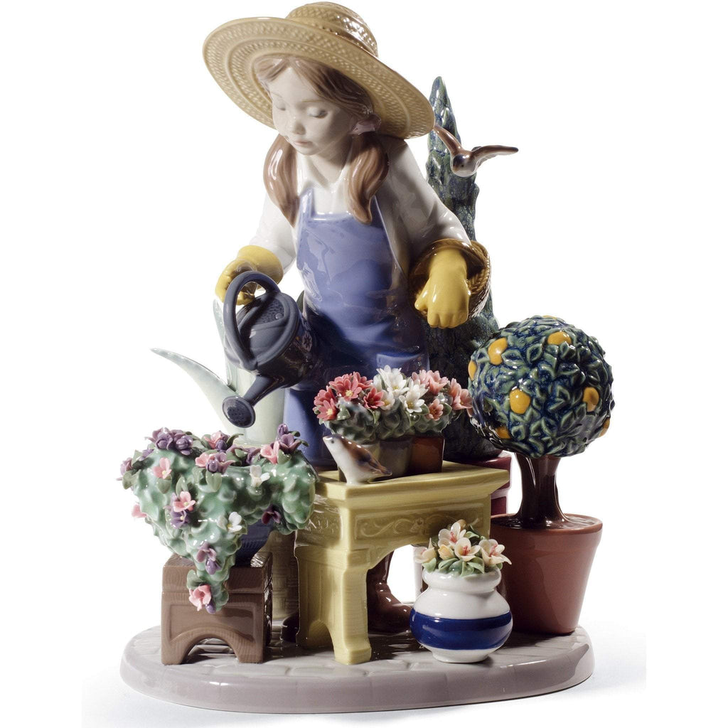 Lladro In My Garden Figurine 01008663