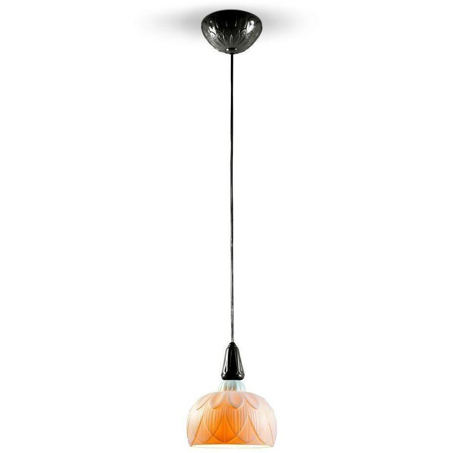 Lladro Ivy & Seed Single Hanging Lamp Absolute Black 01023907