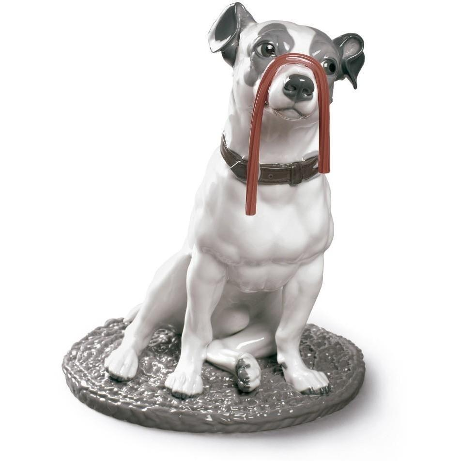 Lladro Jack Russell With Licorice Figurine 01009192