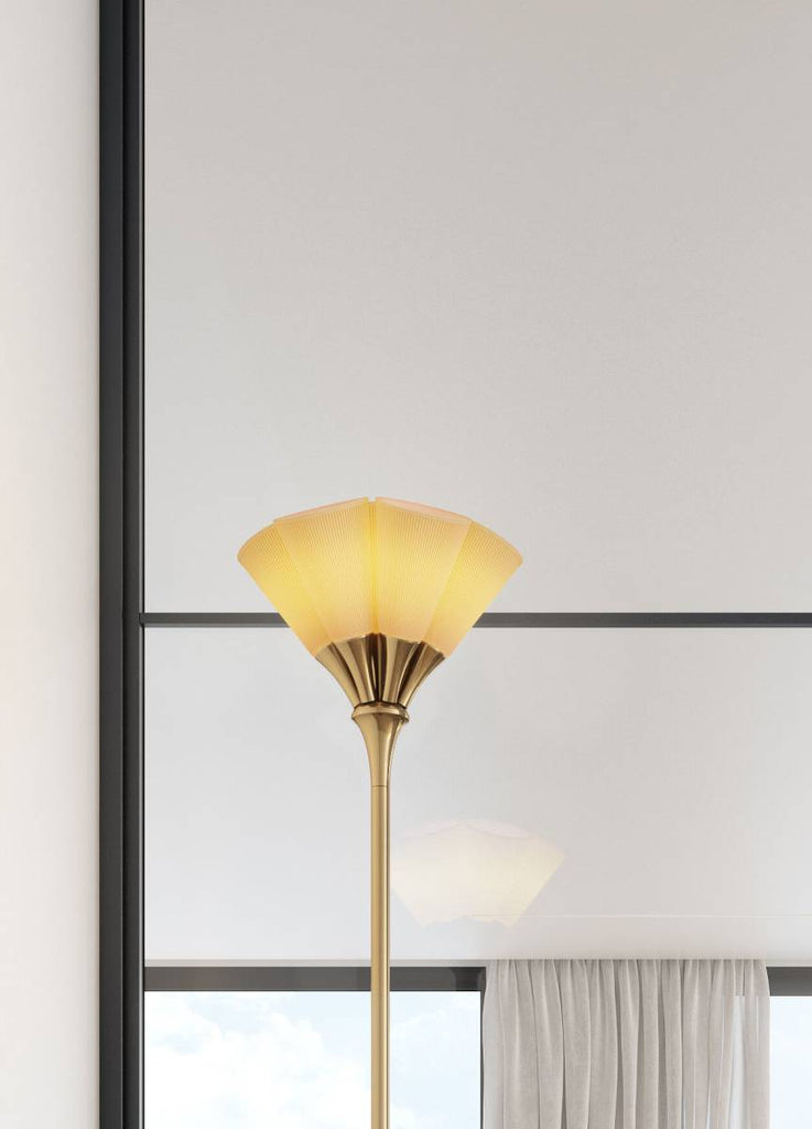 Lladro Jamz Floor Lamp Gold 01023953