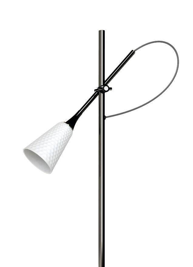 Lladro Jamz Floor Reading Lamp Black 01024015