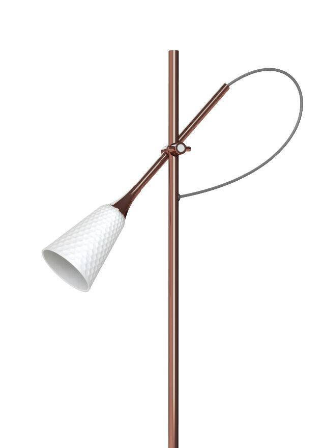 Lladro Jamz Floor Reading Lamp Copper 01024019