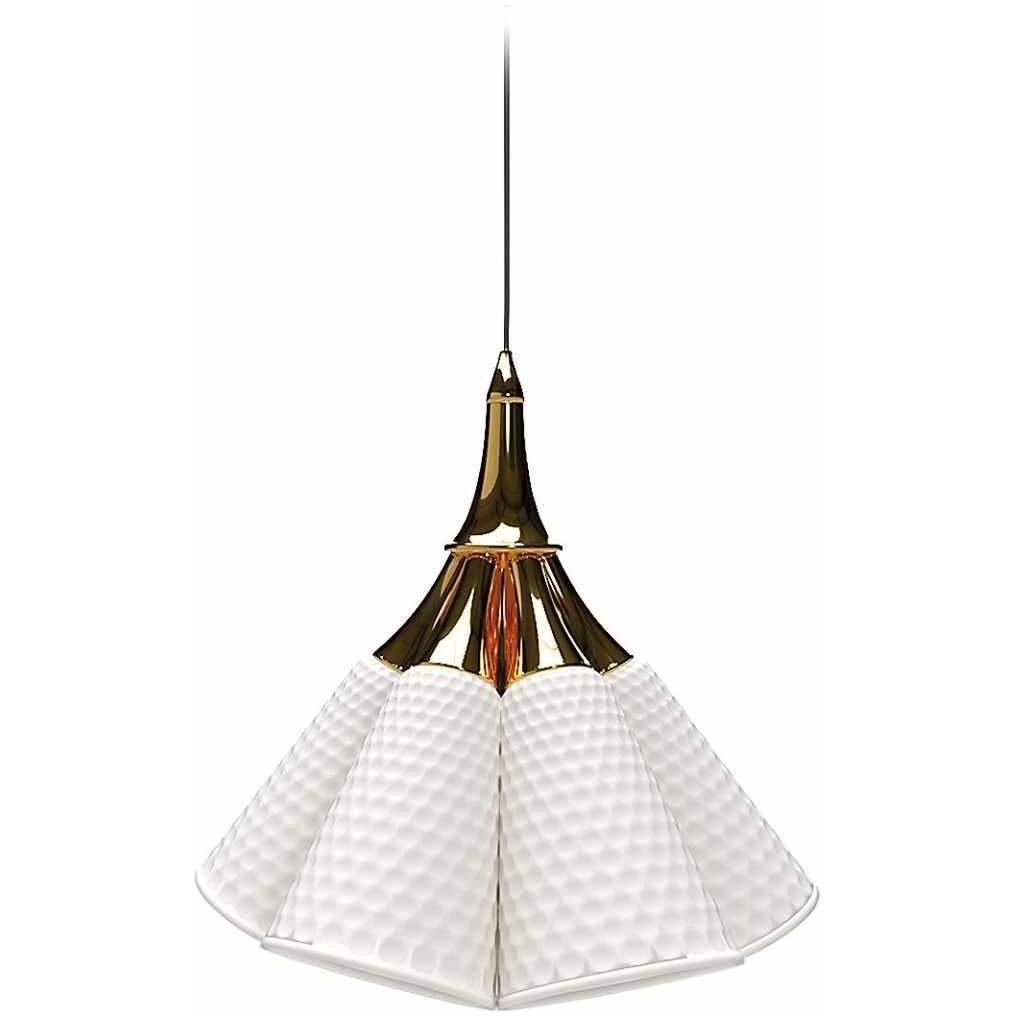 Lladro Jamz Hanging Lamp Gold 01023931
