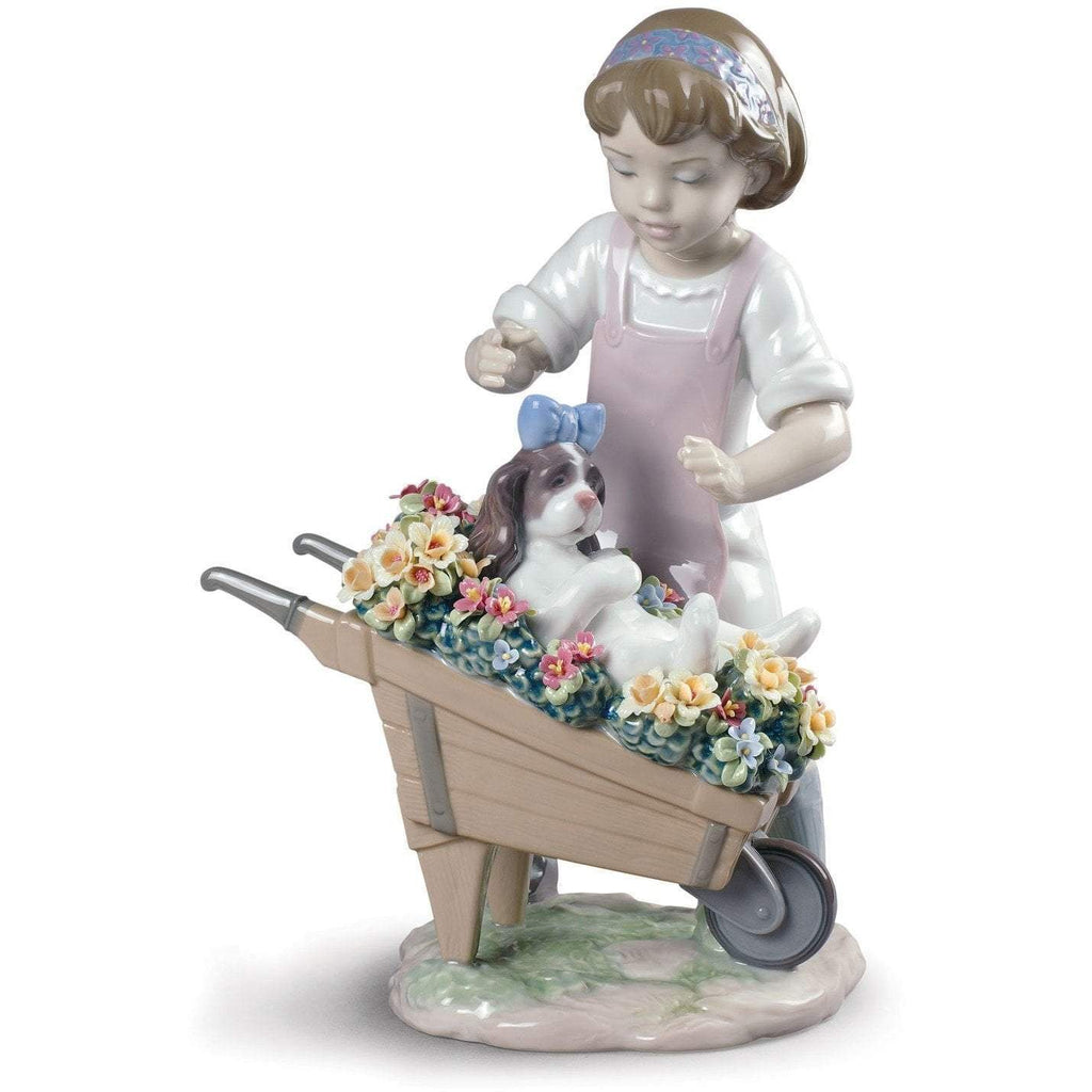 Lladro Let's Go For A Ride Figurine 01009133