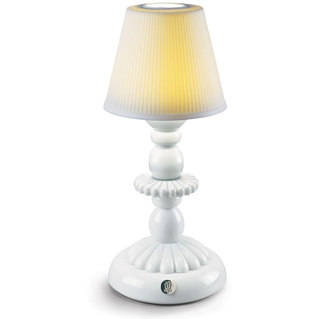 Lladro Lotus Firefly Lamp White 01023759