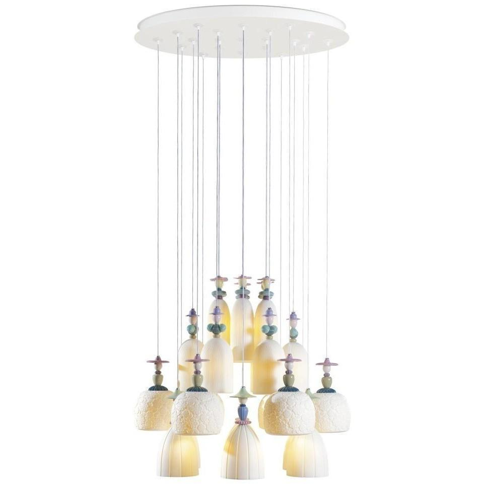 Lladro Mademoiselle Chandelier Medium 25 Light 01023549