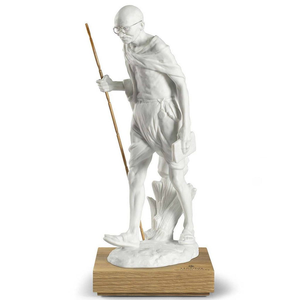 Lladro Mahatma Gandhi Figurine 150Th Birth Anniversary 01009379