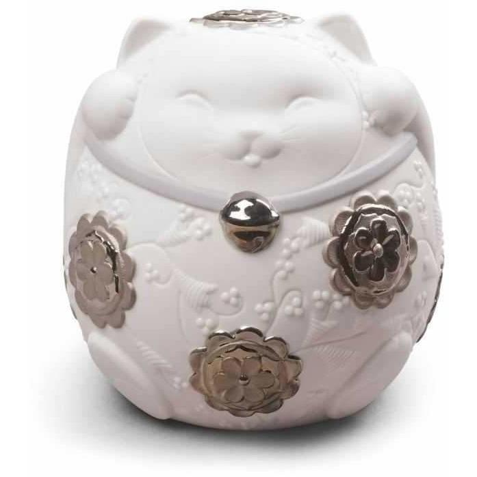 Lladro Maneki Neko Ii Re Deco Figurine 01009073