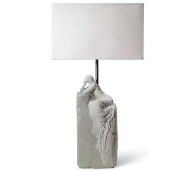 Lladro Meditating Woman Lamp II 01008554