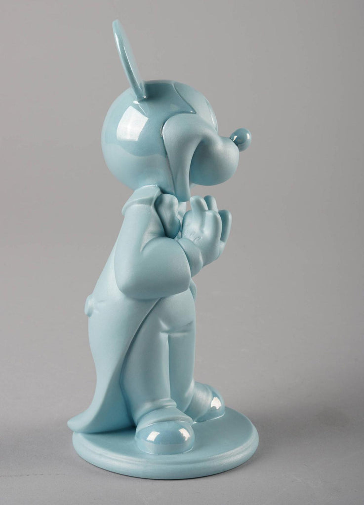 Lladro Mickey Mouse Blue Figurine 01009418