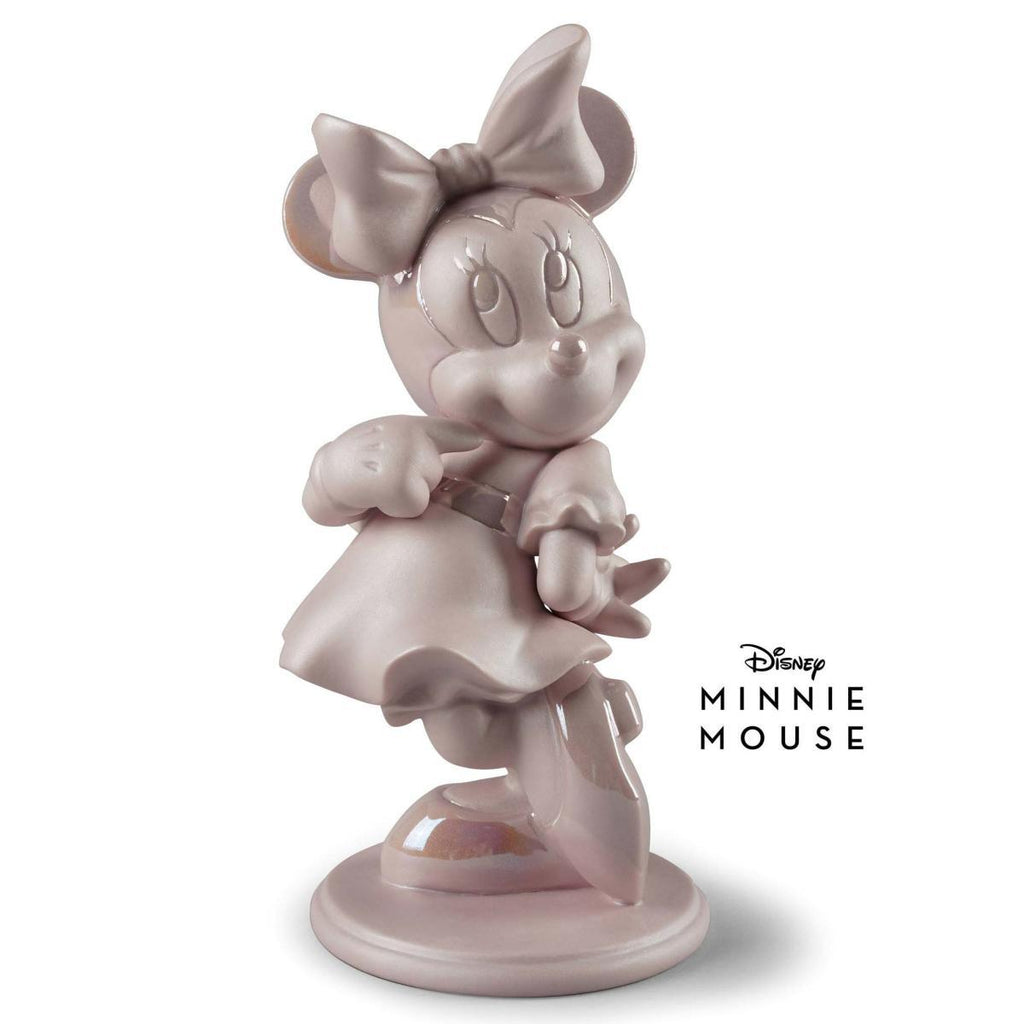 Lladro Minnie Mouse Pink Figurine 01009419