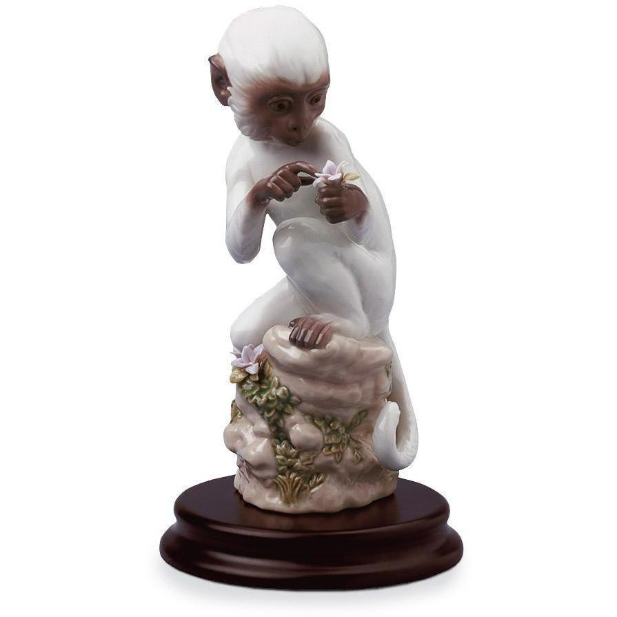 Lladro Monkey Figurine 01006962