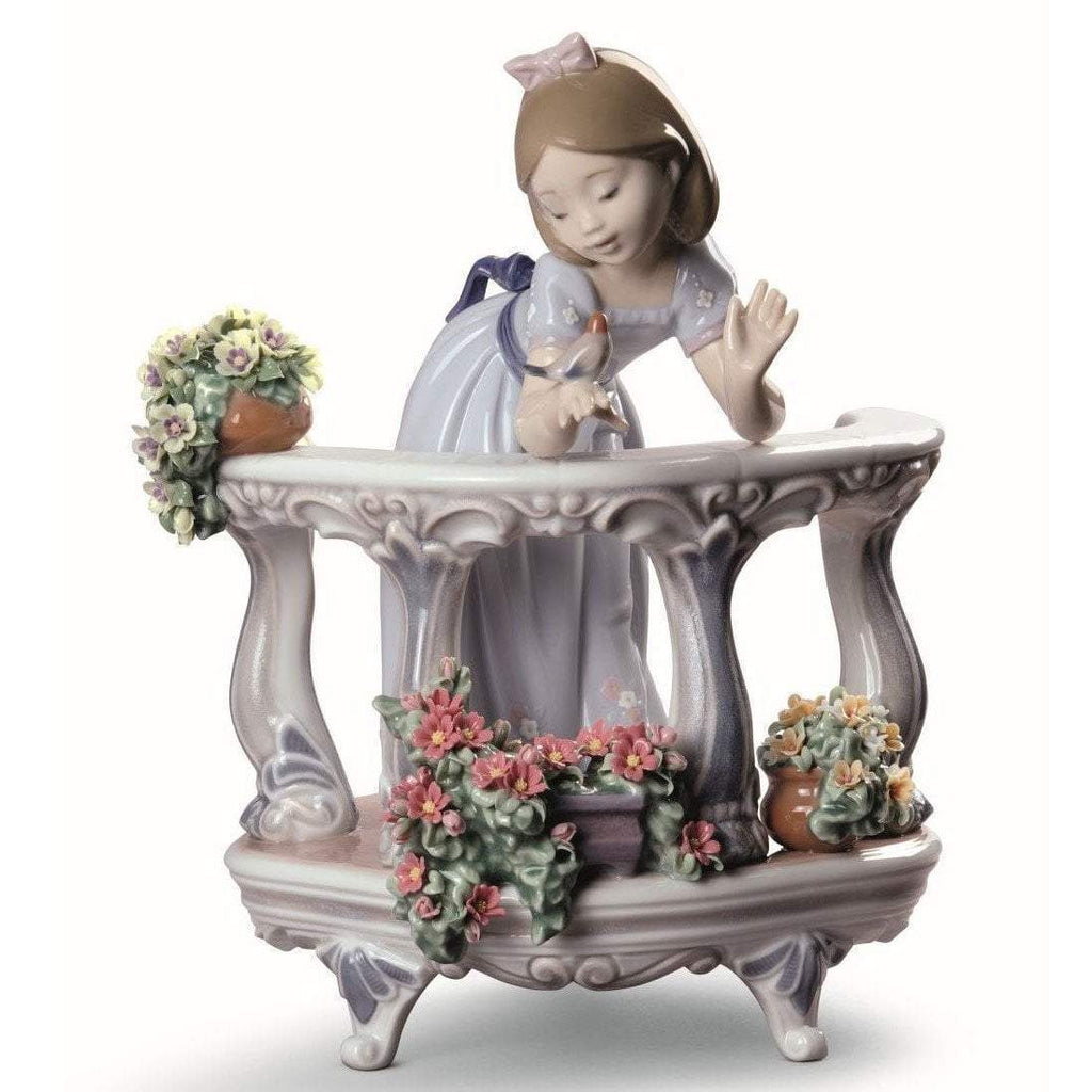 Lladro Morning Song Figurine Special Edition 01008735