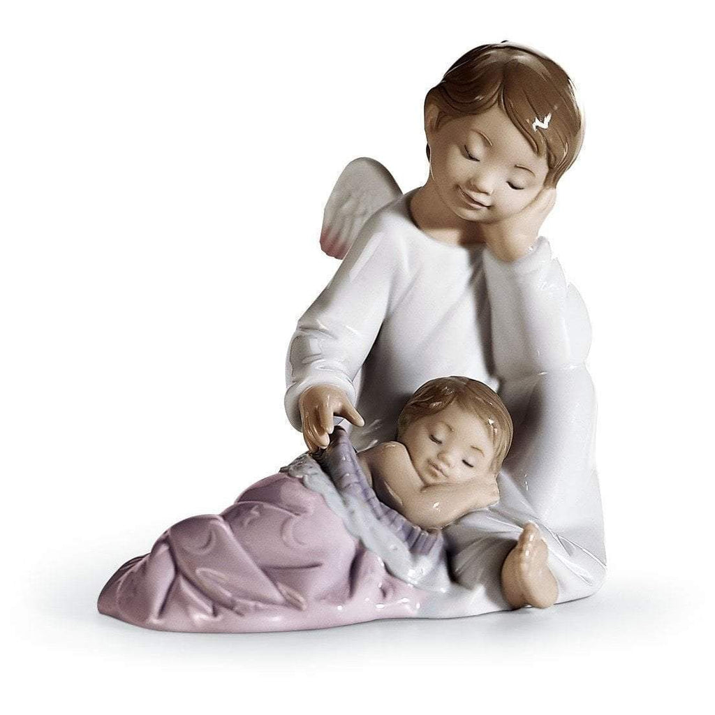 Lladro My Guardian Angel Pink Figurine 01008549