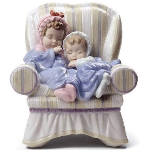 Lladro My Two Little Treasures Figurine 01008717
