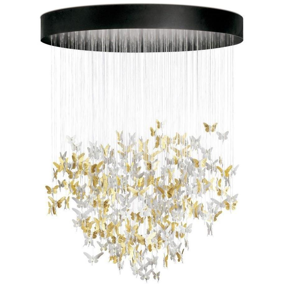Lladro Niagara Chandelier Golden 01017231