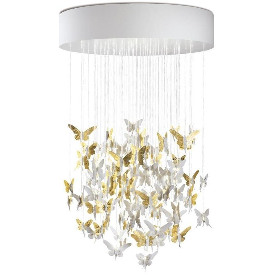 Lladro Niagara Chandelier Golden 01017234