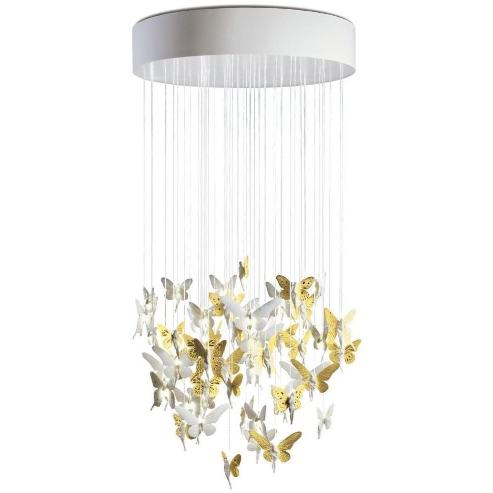 Lladro Niagara Chandelier Golden 01017237