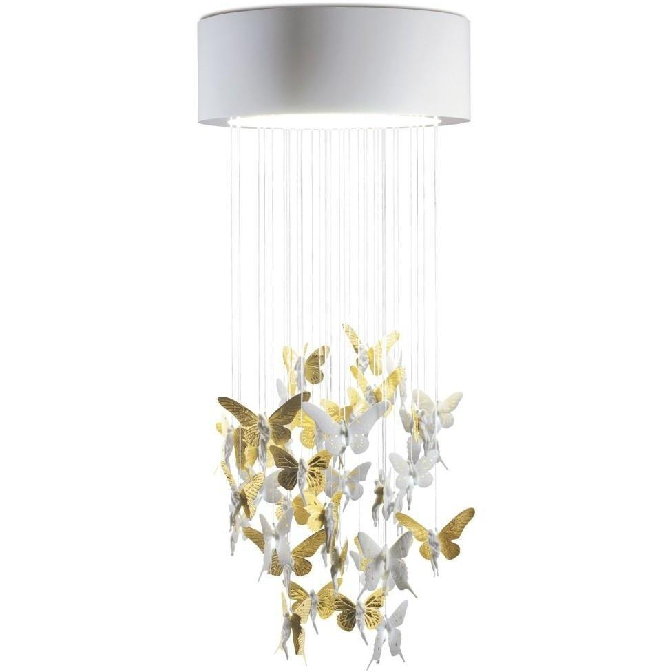 Lladro Niagara Chandelier Golden 01017240
