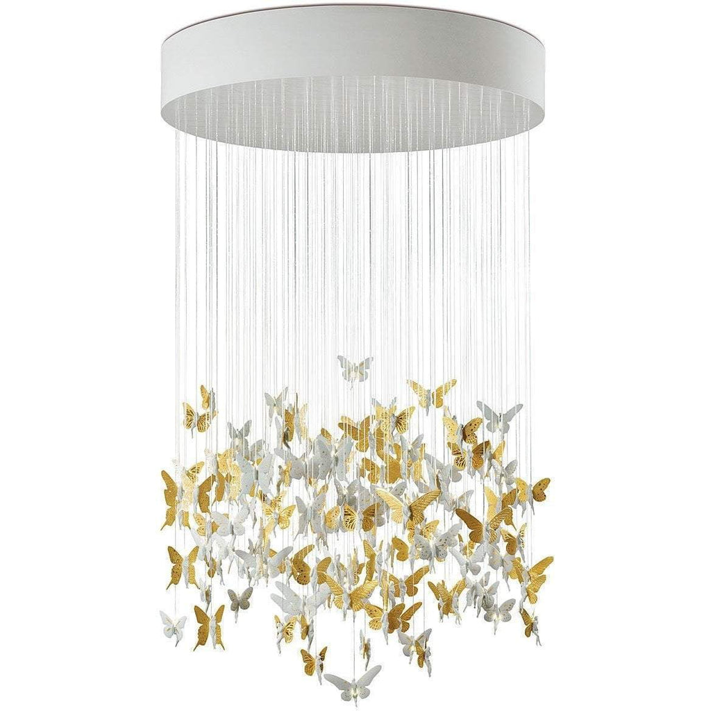 Lladro Niagara Chandelier Golden 01017244