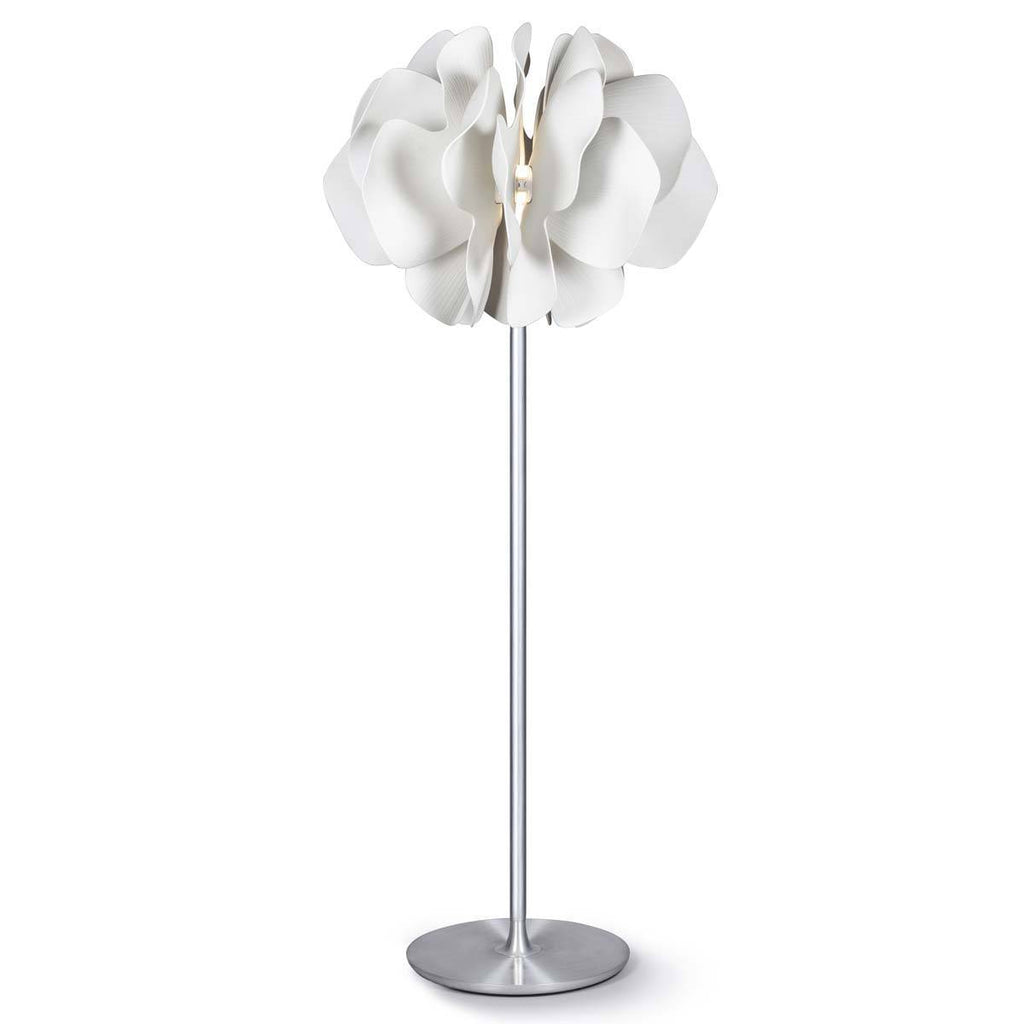 Lladro Nightbloom Floor Lamp White 1023981