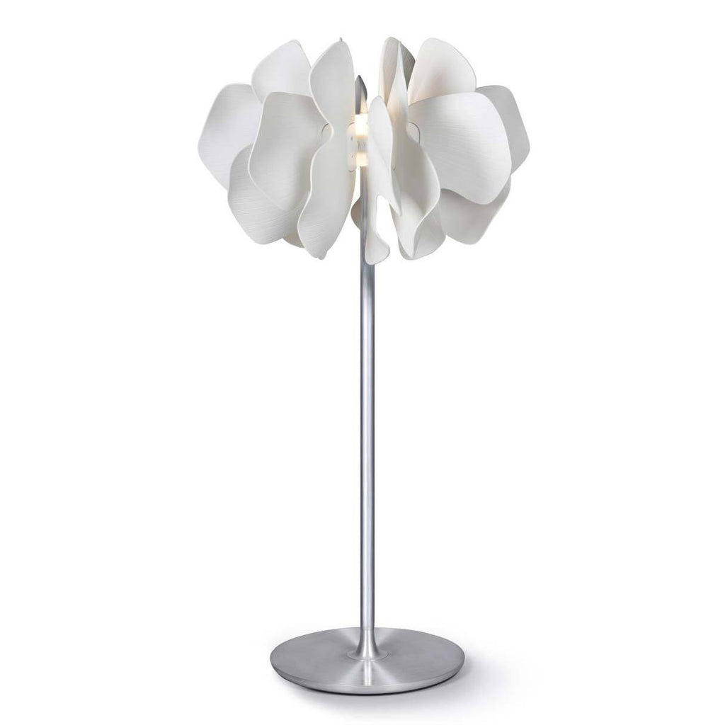 Lladro Nightbloom Floor Lamp White Small 01024046