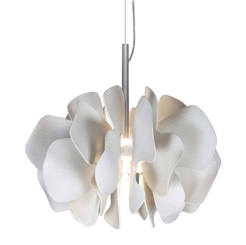 Lladro Nightbloom Hanging Lamp 40cm White 01023987