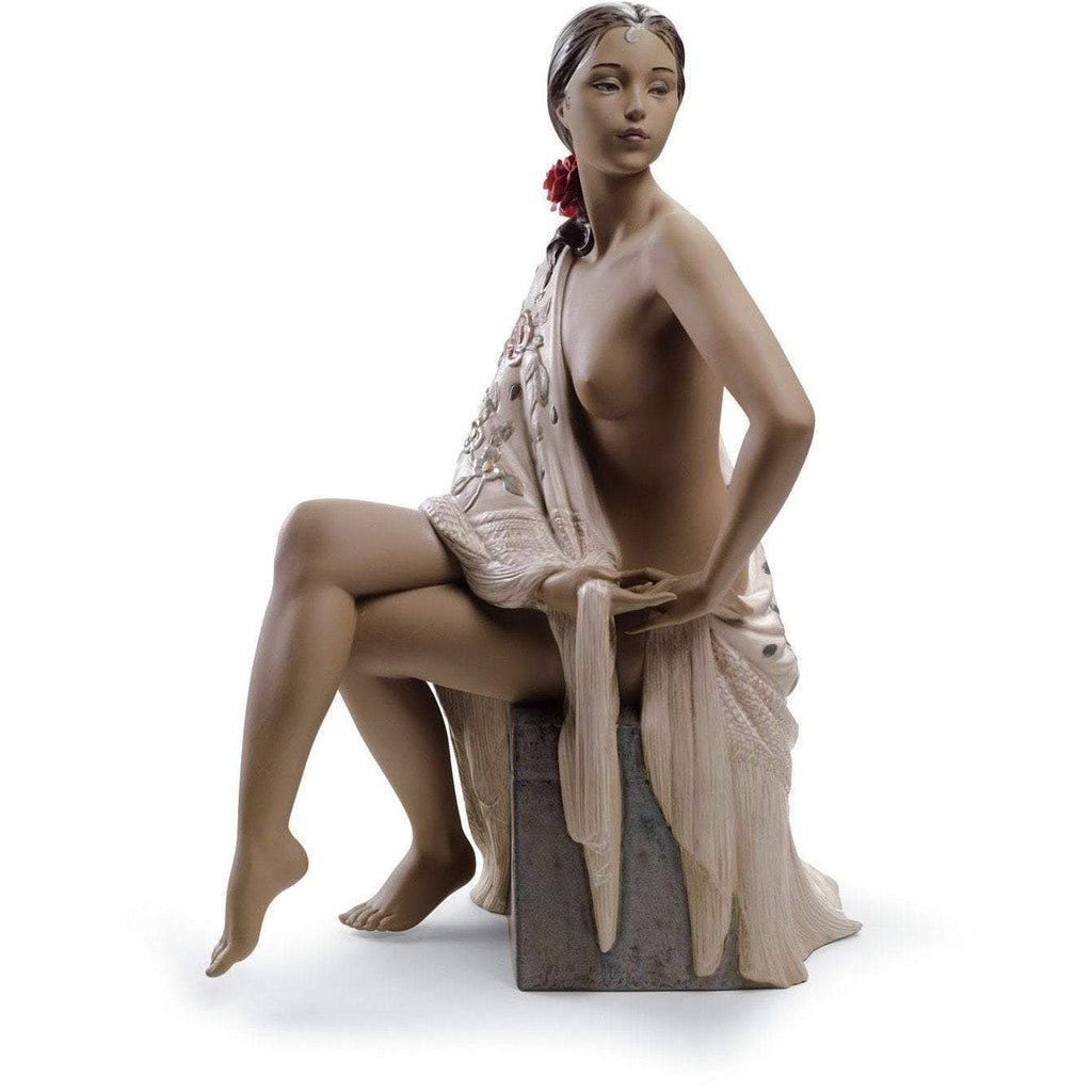 Lladro Nude With Shawl Figurine 01012536