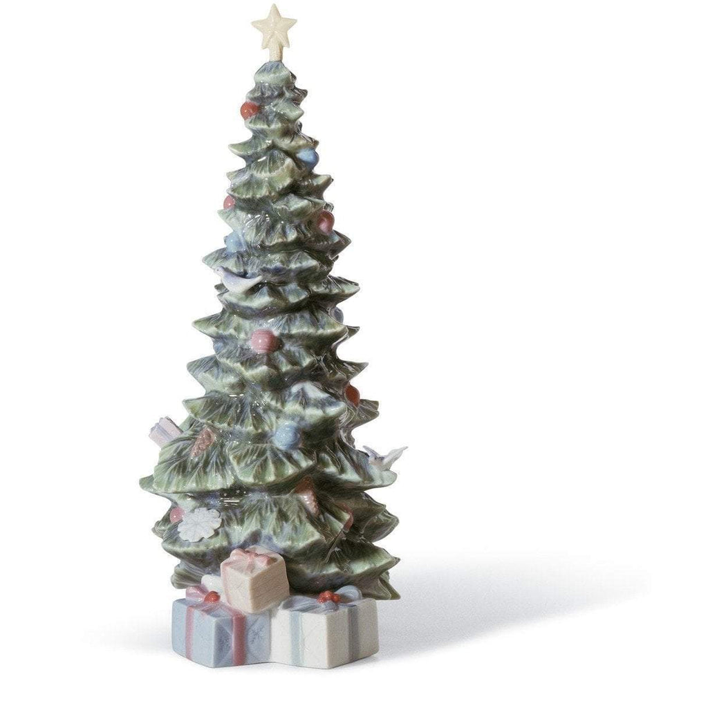 Lladro O Christmas Tree Figurine 01008220