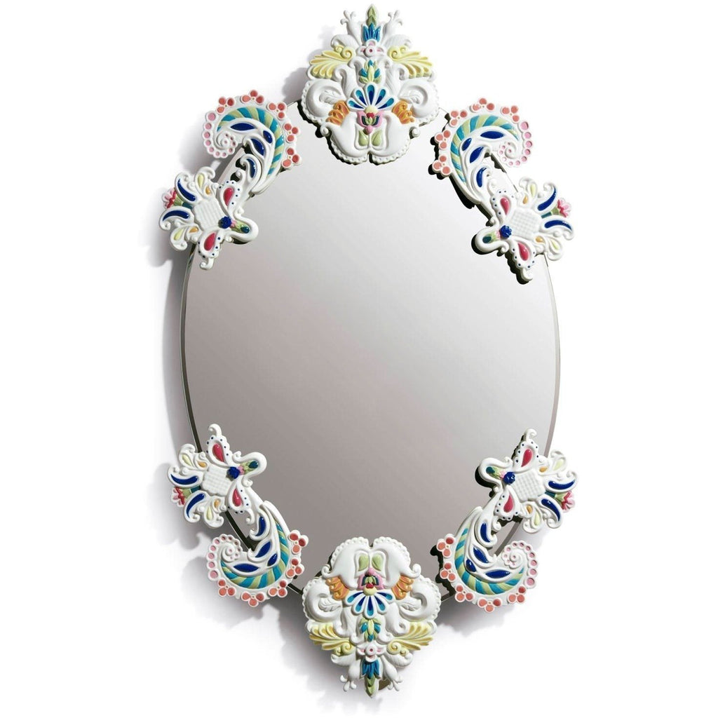 Lladro Oval Frameless Mirror Multicolor 01007834