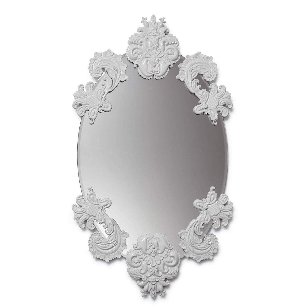 Lladro Oval Mirror Without Frame White 01007767