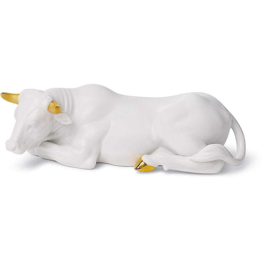 Lladro Ox Re Deco Figurine 01007146