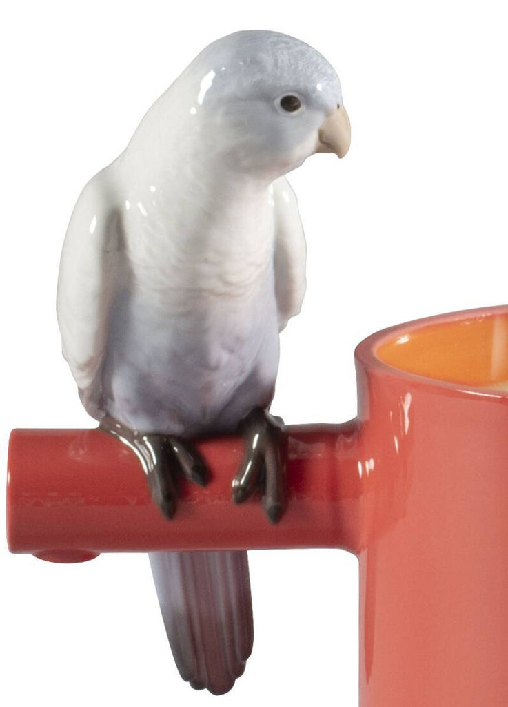 Lladro Parrot'S Scented Treasure On The Prairie Scent Red 01040192