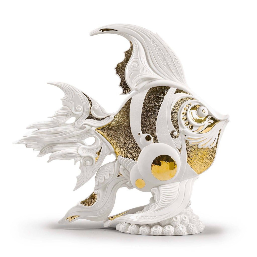Lladro Angelfish Figurine 01002011