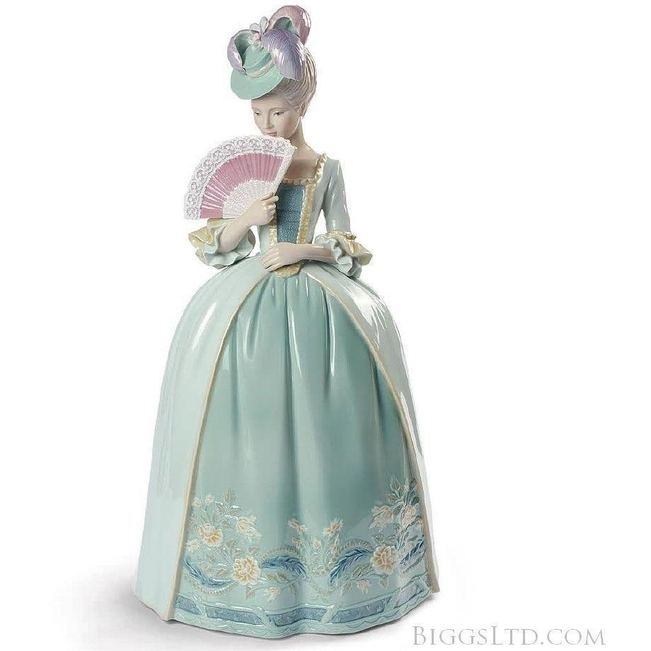Lladro Porcelain Kisses Blue Figurine 01009201
