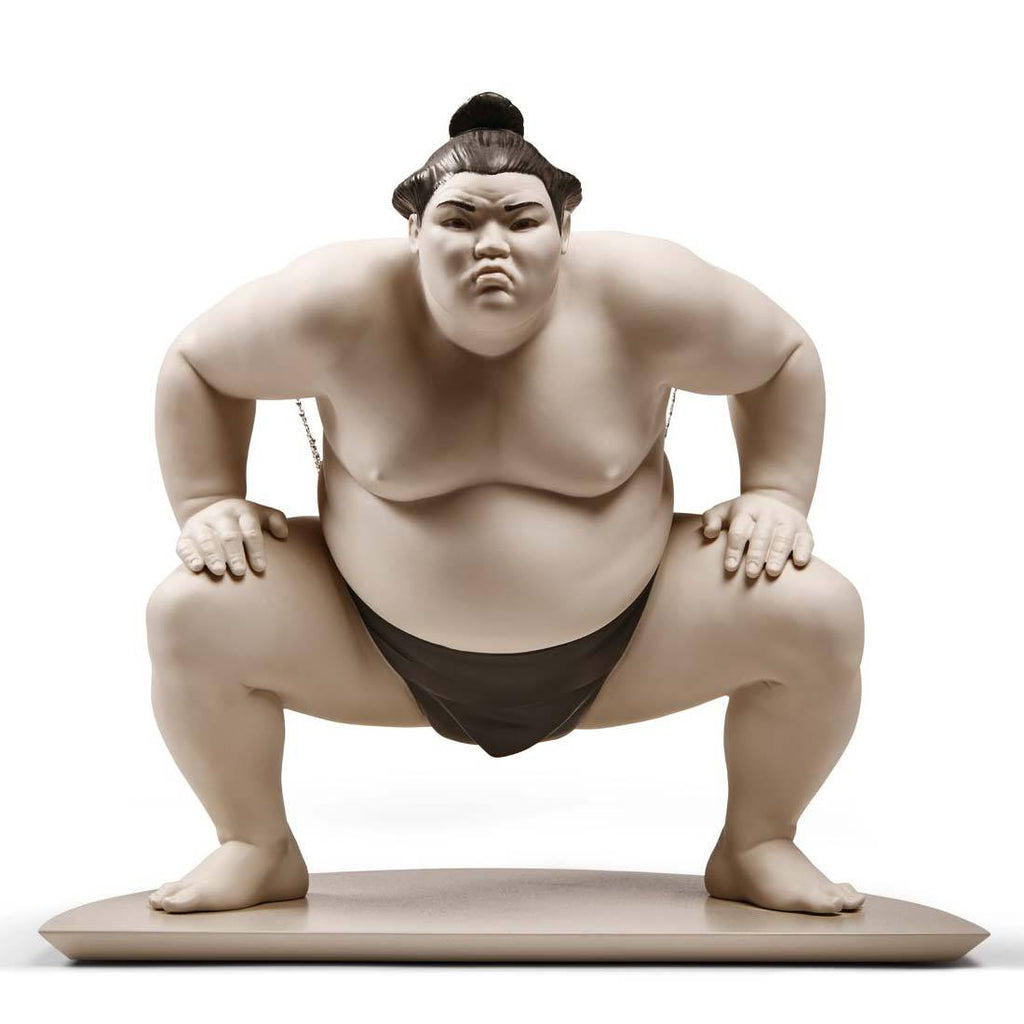 Lladro Sumo Fighter Figurine 01009080