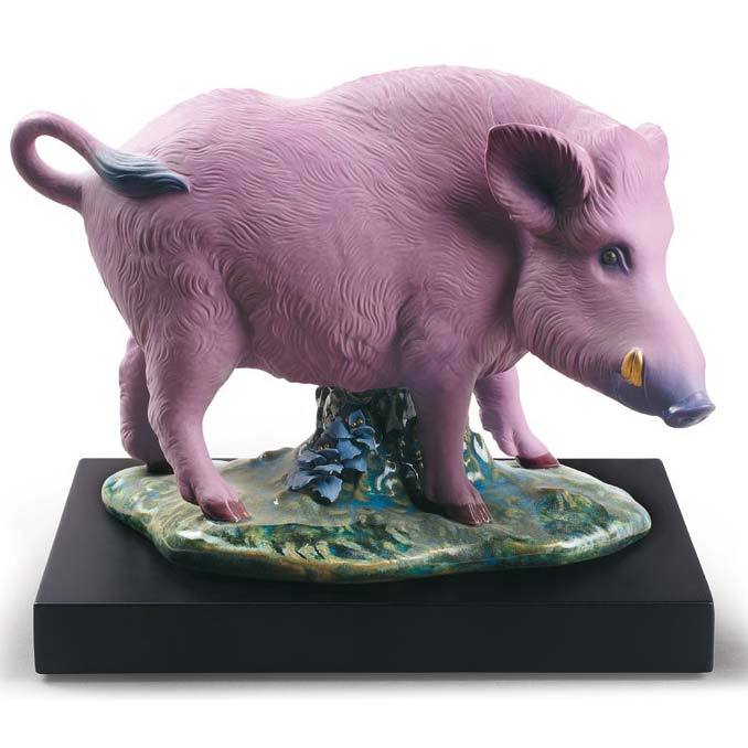 Lladro The Boar Figurine 01009120