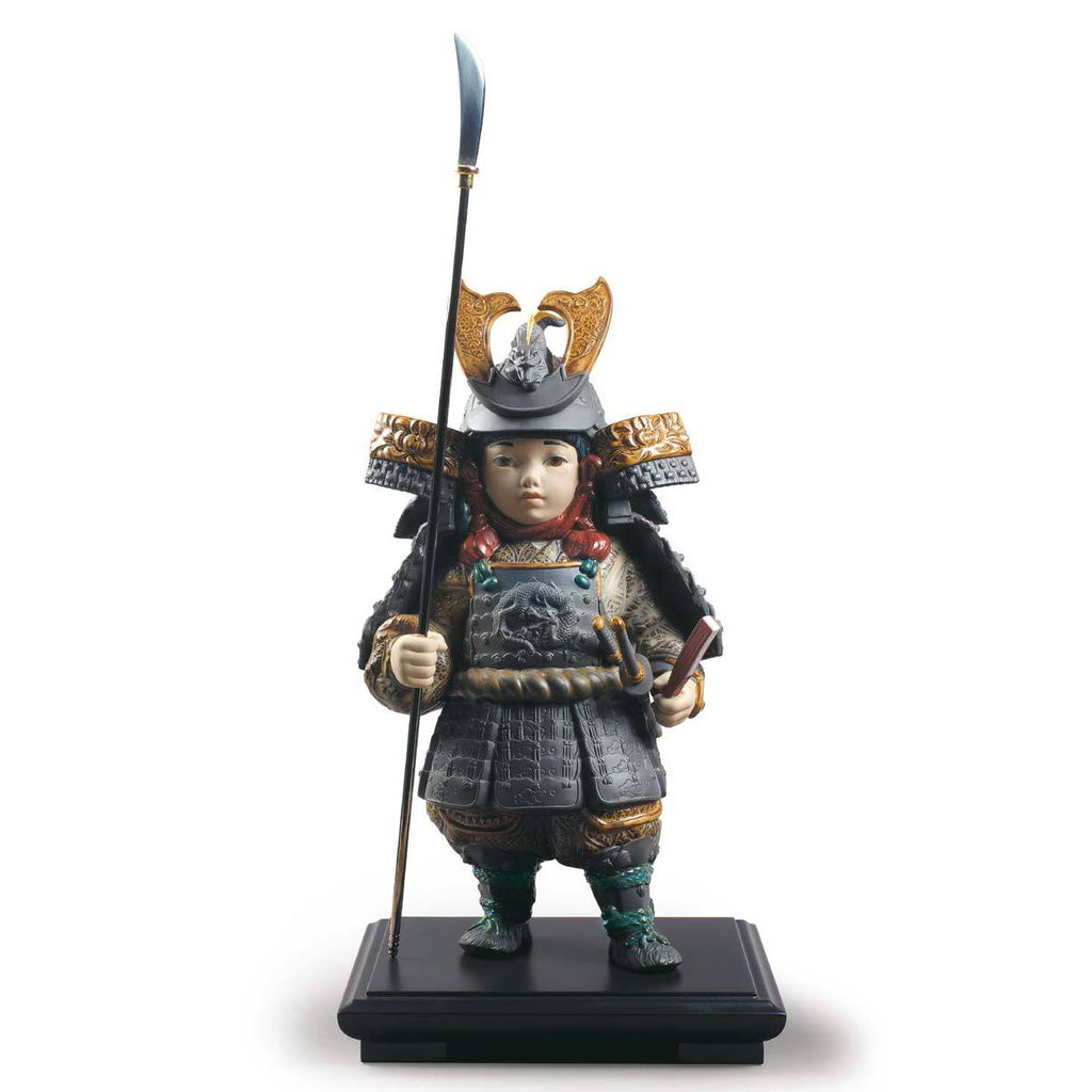 Lladro Warrior Boy Figurine 01012553