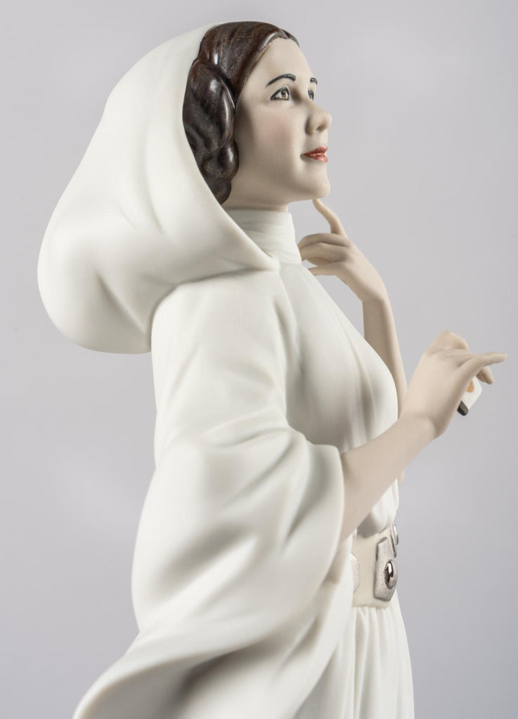 Lladro Princess Leia's New Hope Figurine