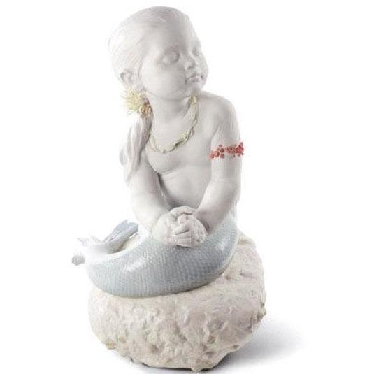 Lladro Princess Of The Waves Figurine 01008713