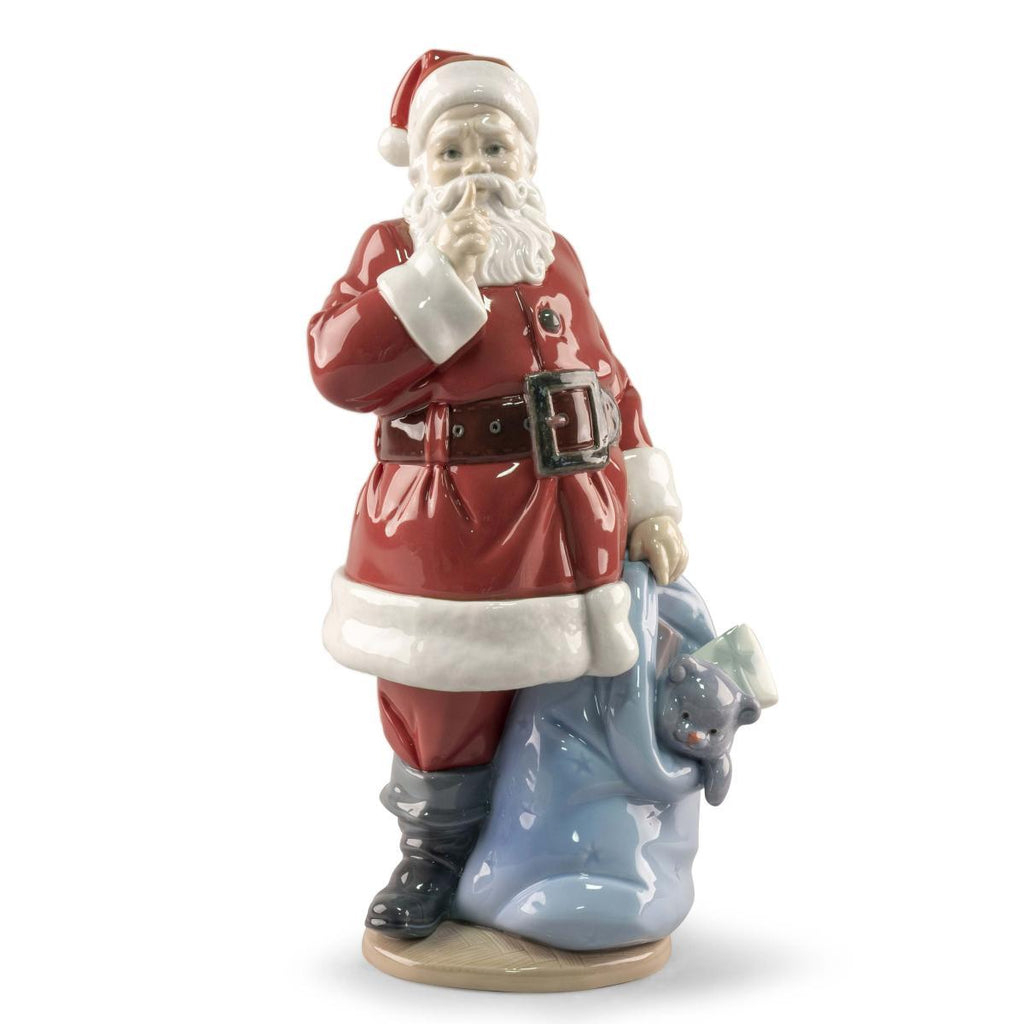 Lladro Santa Is Here Figurine 01009485