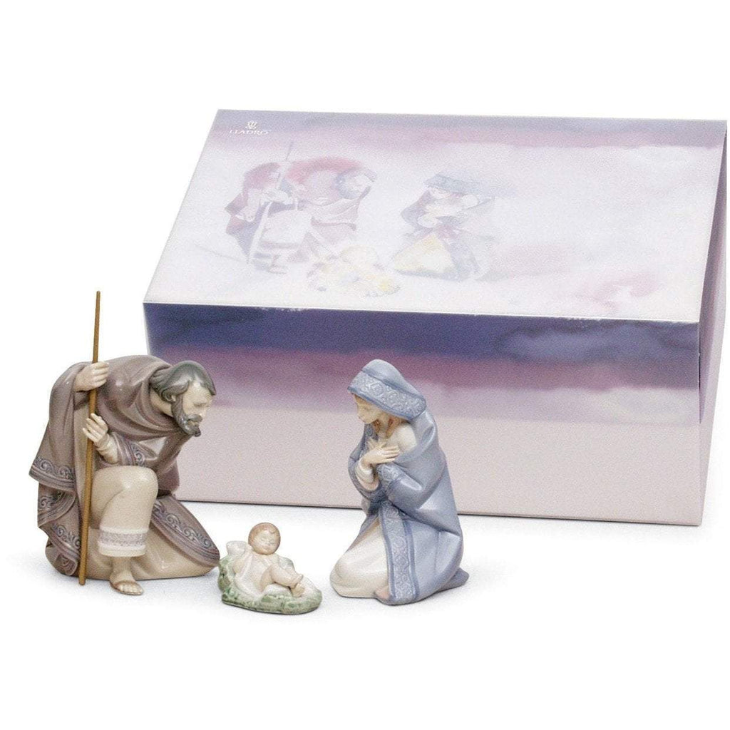 Lladro Set Silent Night Figurine 01007804